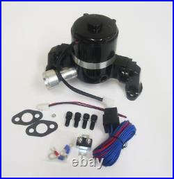 Chevy V8 Electric Water Pump 265 283 305 350 400 High Volume Flow + Relay Kit SB