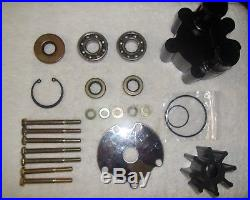 Complete MerCruiser Bravo Raw Water Pump Impeller Kit With Bearings 46-807151A14