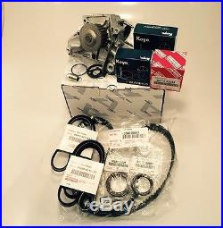 Complete Timing Belt KIT + Water Pump 2.2 4 Cyl Genuine & OE Manufacture Parts