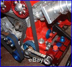 Cosworth YB alloy crankshaft crank water pump alt Drive kit 36-1