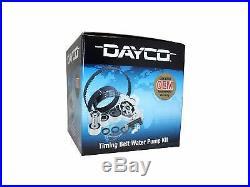 Dayco Timing Belt Kit Water Pump Toyota Landcruiser 5/90-12/94 4.2l 1hdt Hdj80r