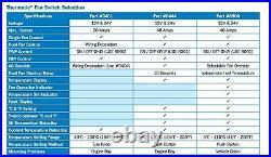 Digital Gauge Fan / EWP Switch With 1/4 NPT Thermal Sensor Kit (#0500 + #0465)