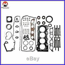 Engine Rebuild Kit Toyota 2zz-ge For Corolla Ts Celica & Lotus Elise 1.8 99-08