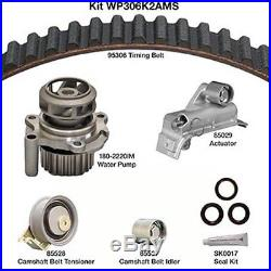 Engine Timing Belt Kit with Water Pump-Water Pump Kit withSeals DAYCO WP306K2AMS