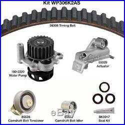 Engine Timing Belt Kit with Water Pump-Water Pump Kit withSeals DAYCO WP306K2AS