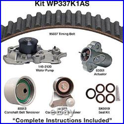 Engine Timing Belt Kit with Water Pump-Water Pump Kit withSeals DAYCO WP337K1AS