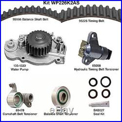 Engine Timing Belt Kit with Water Pump-Water Pump Kit withSeals fits 93-01 Prelude