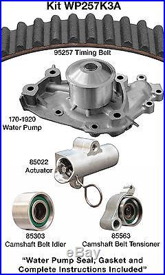 Engine Timing Belt Kit with Water Pump-Water Pump Kit witho Seals Dayco WP257K3A