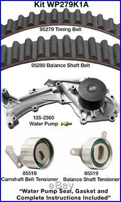 Engine Timing Belt Kit with Water Pump-Water Pump Kit witho Seals fits 96-04 RL