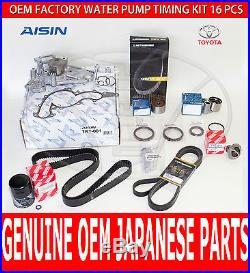 FACTORY NEW LEXUS GS430 OEM COMPLETE TIMING BELT KIT With WATER PUMP & DRIVE BELT