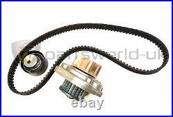 Fiat Abarth Water Pump & Cam / Timing belt + Tensioner GENUINE 71771575