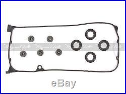 Fit 01-05 Honda Civic 1.7 D17A2 D17A6 Timing Belt Kit Water Pump Valve Cover