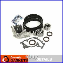 Fit 01-10 Toyota Lexus 3.3L 3.0L Timing Belt Kit Water Pump 3MZFE 3MZFXE 1MZFE
