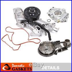Fit 03-08 Dodge Ram 1500 Chrysler 5.7L HEMI Timing Chain Kit+Oil Pump+Water Pump