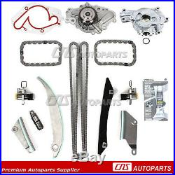 Fit 09-10 Chrysler 300 Dodge Magnum 2.7L Timing Chain Kit Oil Pump Water Pump