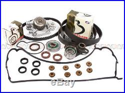 Fit 93-01 Honda Prelude DOHC Timing Belt Water Pump Valve Cover Kit H22A1 H22A4