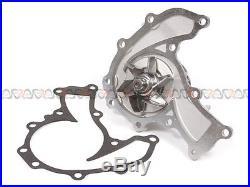 Fit 93-97 Isuzu Rodeo Trooper Honda Acura SOHC Timing Belt Water Pump Kit 6VD1
