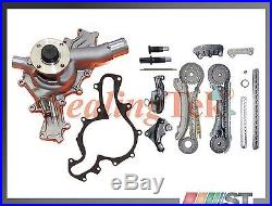 Fit 97-11 Ford 4.0L SOHC V6 Engine Timing Chain Gear Kit with Water Pump Set combo