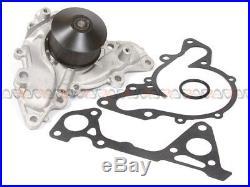 Fit 97-12 Mitsubishi Eclipse 3.8L 3.5L SOHC Timing Belt Kit Water Pump Tensioner