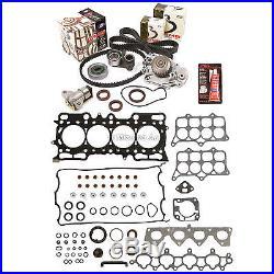Fit Head Gasket Set Timing Belt Kit Water Pump 97-01 Honda Prelude VTec H22A4