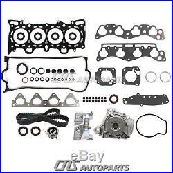 Fit Head Gasket Set Timing Belt Water Pump Kit 96-00 Honda Civic D16Y5/Y7/Y8
