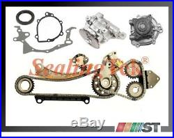 Fit Suzuki G18K J18A J20A J23A Engine Timing Chain Set with Oil & Water Pumps Kit