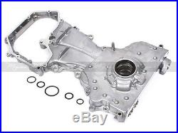 Fit Timing Chain Cover Water Oil Pump Kit for 02-06 Nissan QR25DE Altima Sentra