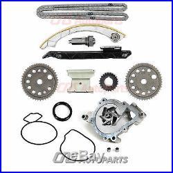 Fits 00-08 Chevy Saturn DOHC Ecotec 2.0L 2.2L L61 Timing Chain Water Pump Kit