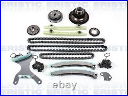 Fits 02-08 DODGE JEEP 4.7L SOHC NGC Timing Chain Kit with Oil & Water Pump Set