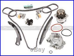 Fits 05-10 Nissan Frontier Pathfinder VQ40DE Timing Chain Kit Water Oil Pump