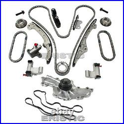 Fits 07-10 Ford Lincoln Edge Taurus MKZ 3.5L DURATEC Timing Chain Kit Water Pump