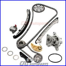 Fits 07-13 Mazda 3 6 CX-7 2.3L Timing Chain Kit with Water Pump Set MZR