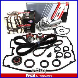Fits 89-92 MITSUBISHI 2.0L TIMING BELT KIT WATER PUMP with VALVE COVER GASKET 4G63