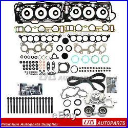 Fits 95-04 Toyota T100 3.4L Head Gasket Bolts/Timing Belt/ Water Pump Kit 5VZFE