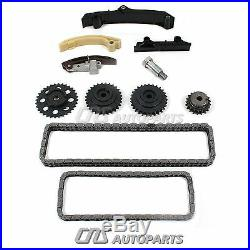 Fits 95-97 VW 2.8L SOHC VR6 AAA DOUBLE Wide Timing Chain Kit + Water Pump Set