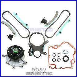 Fits 99-08 Dodge Jeep 4.7L SOHC Timing Kit with Cover Gasket & Water Pump NGC JTEC