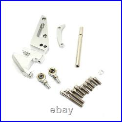 Fits Chevy SBC 350 Short Water Pump Swp Aluminum Alternator Bracket Kit Polished