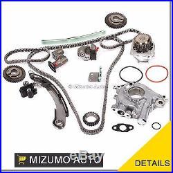 Fits Nissan Maxima Quest Altima 3.5 VQ35DE Timing Chain Kit Water Pump Oil Pump