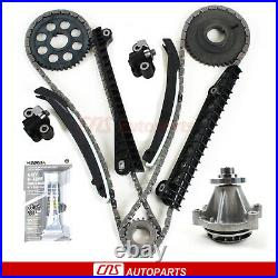 For 97-01 FORD 5.4L V8 withsupercharged 330cid 6.8 V10 Timing Chain Water pump Kit