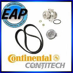 For 98-06 Golf Jetta Beetle 2.0L 4cyl OEM Contitech Timing Belt Water Pump Kit
