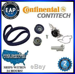 For Audi A4 A6 VW Passat 2.8L V6 OEM CRP Timing Belt Kit with Water Pump & Hyd Ten