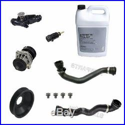 For BMW E39 E46 525i 530i 99-03 Cooling System Kit with Water Pump & Thermostat