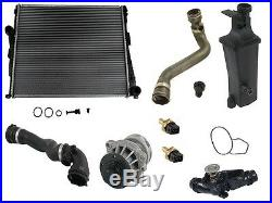 For BMW E46 High Qualiy Coolant KIT Radiator+Recovery Tank+Hoses+Water Pump