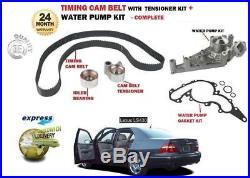 For Lexus Ls400 Ls430 Rwd 1997-2006 Timing Cam Belt + Tensioner Kit + Water Pump