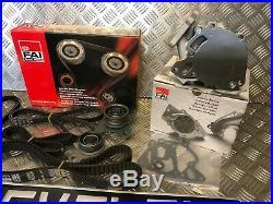 For Mitsubishi L200 K74 2.5td 4d56 Water Pump, Timing Tensioner & Belt Kit- New