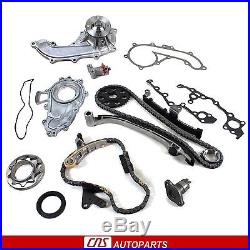 For Toyota 2.7L Timing Kit/ Balance Shaft Chain Set/Water& Oil Pump 3RZFE Engine