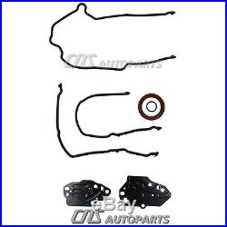 Ford 5.4L 3V Timing Chain Water pump Kit 2 Cam Phasers 2 Timing Solenoid Valves