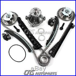 Ford 5.4L Timing Chain Kit Water Pump VVTi Camshaft Phaser Updated Tensioners
