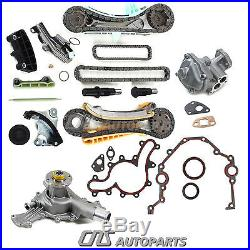 Ford Mazda Mercury 4.0L SOHC V6 Engine Timing Chain Kit with Gears+Water, Oil Pump