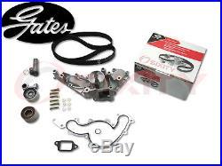 GATES 01-09 Toyota Sequoia 4.7L V8 Timing Belt Water Pump Kit TCKWP OE ix